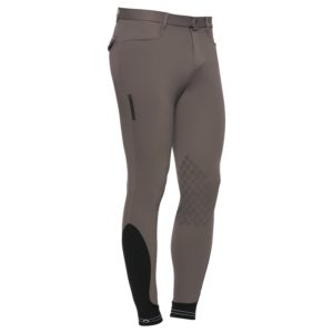 Cavalleria Toscana Men's New Grip System Piping Logo Breeches